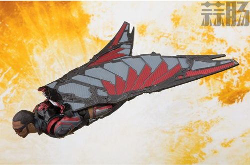 S.H.F 公开《复仇者联盟3》猎鹰 官图 模玩 第4张