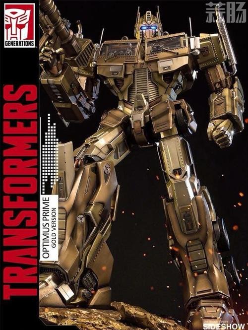 Prime 1 Studio公开G1擎天柱 金色雕像官图 变形金刚 第3张