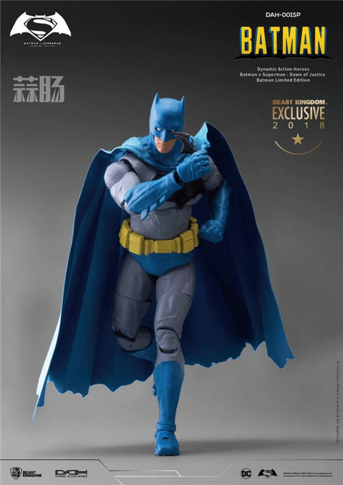 2018SDCC圣地亚哥限定1/9漫画色蝙蝠侠&超人&神奇女侠  模玩 第1张