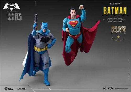 2018SDCC圣地亚哥限定1/9漫画色蝙蝠侠&超人&神奇女侠  模玩 第3张