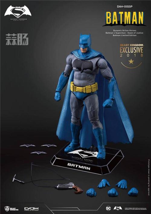 2018SDCC圣地亚哥限定1/9漫画色蝙蝠侠&超人&神奇女侠  模玩 第6张