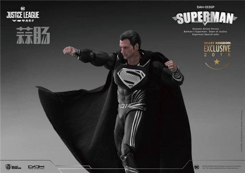 很酷!Beast Kingdom圣地亚哥动漫节限定 1/9正义联盟 黑色超人  模玩 第4张