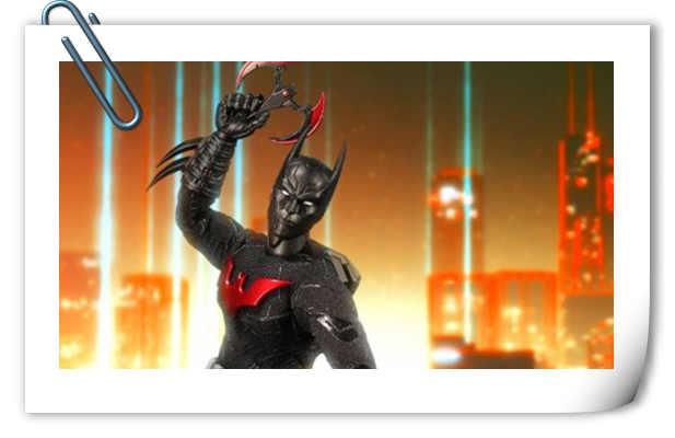 2018 圣地亚哥动漫节限定 6寸 未来蝙蝠侠官图来袭!