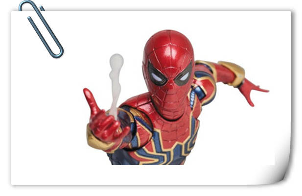 MEDICOM明年四月发售:MAFEX Series钢铁蜘蛛侠