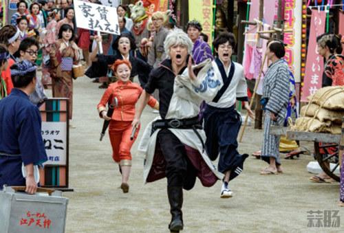 喜感满满 真人版《银魂2》大电影全新极清剧照公开! 动漫 第1张