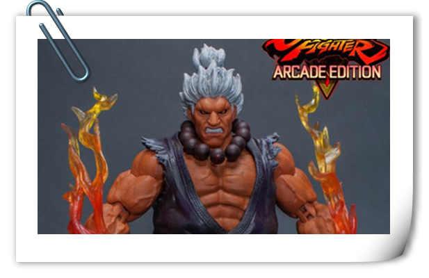 Storm Collectibles发布SDCC限定 铁拳,真人快打&街霸 玩具  