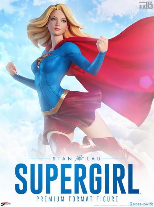 Sideshow 预告:超级女孩 雕像 & 1/6 美国队长 可动人偶即将来袭  模玩 第1张