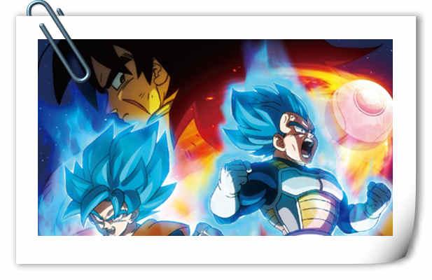 剧场版《龙珠超》正式海报公开!片名为《龙珠超 布罗利》!