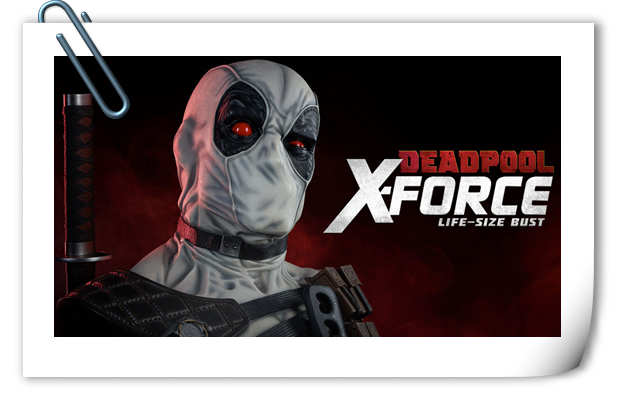 Sideshow预告:1/1 Deadpool X-Force死侍即将来袭!