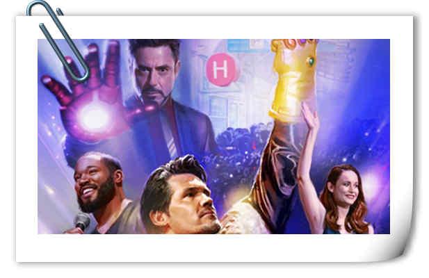 漫威电影宇宙10周年SDCC漫展特别海报公开!惊奇队长现身!
