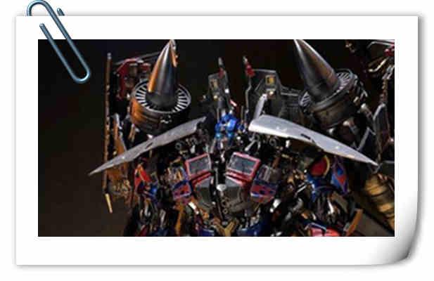 霸气!Prime 1 Studio《变形金刚2》天火擎天柱合体雕像官图来袭!