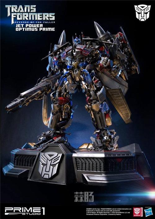 霸气!Prime 1 Studio《变形金刚2》天火擎天柱合体雕像官图来袭! 变形金刚 第2张
