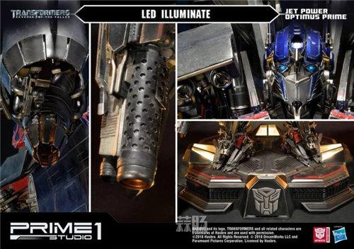霸气!Prime 1 Studio《变形金刚2》天火擎天柱合体雕像官图来袭! 变形金刚 第5张