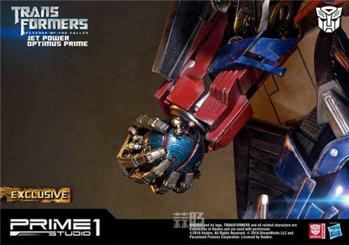 霸气!Prime 1 Studio《变形金刚2》天火擎天柱合体雕像官图来袭! 变形金刚 第4张