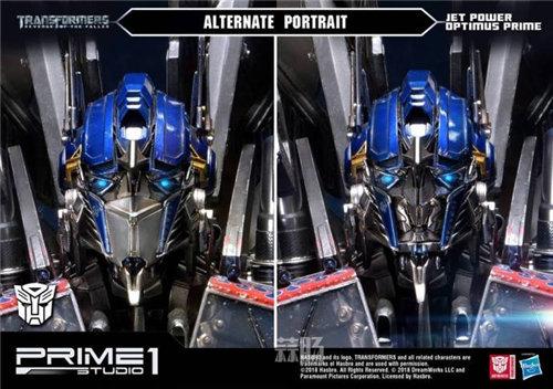 霸气!Prime 1 Studio《变形金刚2》天火擎天柱合体雕像官图来袭! 变形金刚 第6张