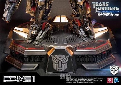 霸气!Prime 1 Studio《变形金刚2》天火擎天柱合体雕像官图来袭! 变形金刚 第7张
