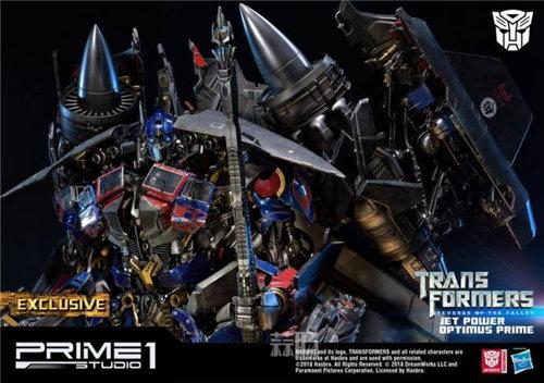 霸气!Prime 1 Studio《变形金刚2》天火擎天柱合体雕像官图来袭! 变形金刚 第8张