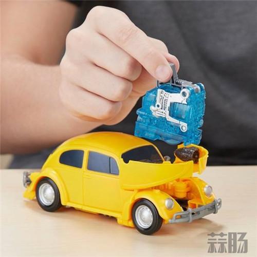 孩之宝《大黄蜂》电影玩具官图—— 大黄蜂&路障! 变形金刚 第5张