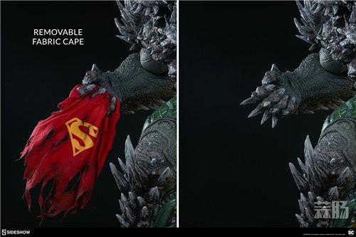 Sideshow新品26.5寸DC超级大反派-毁灭日雕像来袭! 模玩 第5张