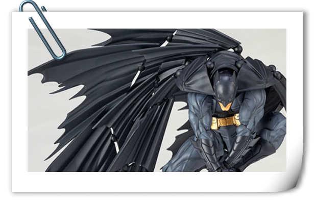 海洋堂可动模型——全新Batman蝙蝠侠来袭!