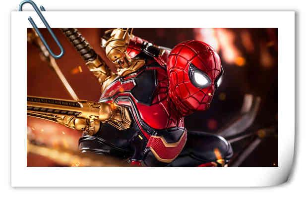 Iron Studios1/4《复仇者联盟3》钢铁蜘蛛侠来袭!