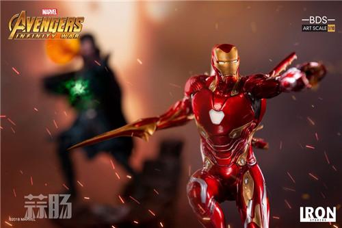 Iron Studios1/10《复联3:无限战争》钢铁侠 MK48来袭! 动漫 第4张