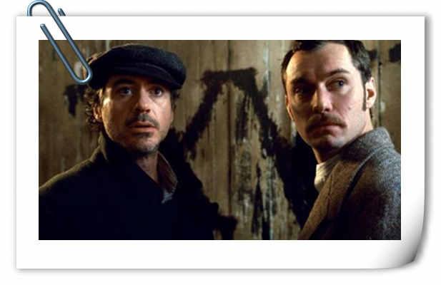 小罗伯特·唐尼公开《大侦探福尔摩斯》拍摄旧照!为第三部预热!