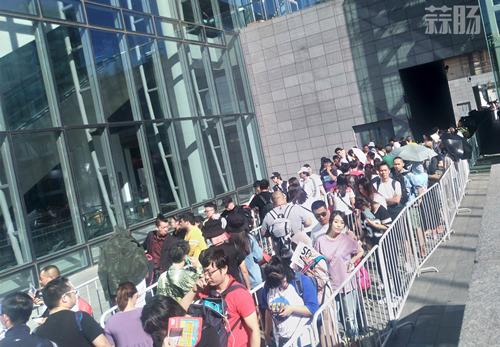 潮流玩具?蒜肠带你到北京潮流玩具展(BTS)见识下潮玩粉丝们的热情和设计大师们的激情 漫展 第2张