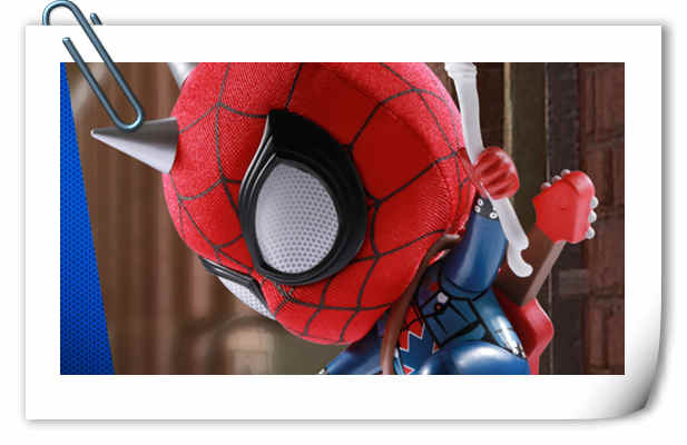Hot Toys推出PlayStation4《漫威蜘蛛侠》COSBABY迷你珍藏人偶