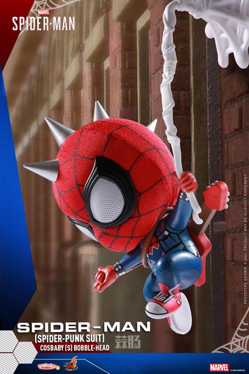 Hot Toys推出PlayStation4《漫威蜘蛛侠》COSBABY迷你珍藏人偶 模玩 第5张