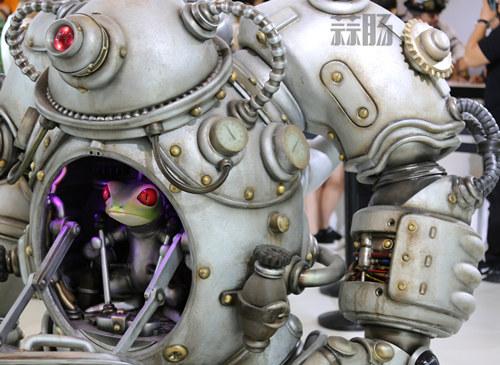镰田光司:中国的粉丝们让我感动,期待与MOLLY的合作 BTS 北京国际潮流玩具展 MOLLY 青蛙战队 Kenny 镰田光司 漫展  第2张