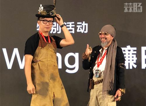 镰田光司:中国的粉丝们让我感动,期待与MOLLY的合作 BTS 北京国际潮流玩具展 MOLLY 青蛙战队 Kenny 镰田光司 漫展  第3张