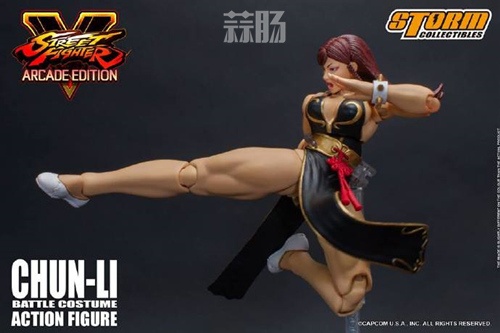 Storm Collectibles限定版街霸5春丽公布 模玩 第2张