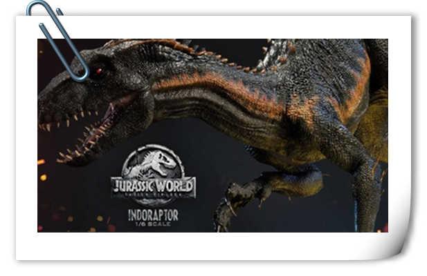 Prime 1 Studio发布《侏罗纪世界2 堕落王国》暴虐迅猛龙雕像