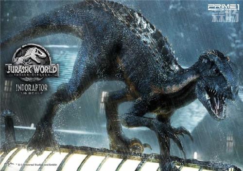 Prime 1 Studio发布《侏罗纪世界2 堕落王国》暴虐迅猛龙雕像 模玩 第3张