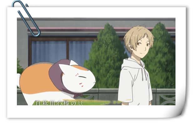三个猫咪老师 三倍的可爱 《夏目友人帐》剧场版新片段公开!