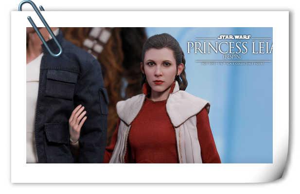 《星球大战5:帝国反击战》莱娅公主(贝斯坪版) 1:6比例珍藏人偶