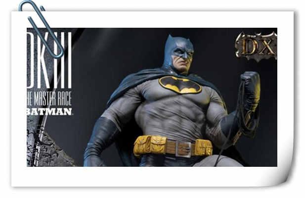 Prime 1 Studio 发布《黑暗骑士 III: 大师赛》1/3 蝙蝠侠雕像