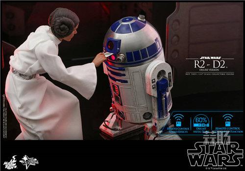 Hot Toys推出《星球大战》豪华版本R2-D2 1:6比例珍藏人偶 模玩 第1张