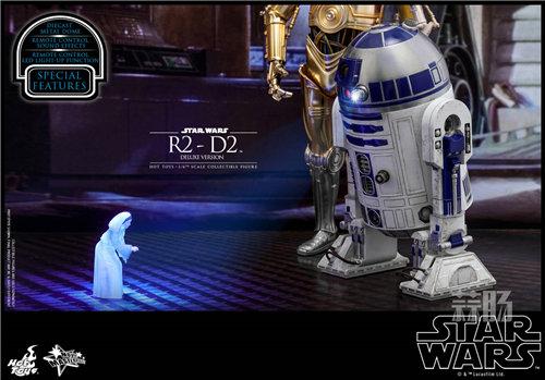 Hot Toys推出《星球大战》豪华版本R2-D2 1:6比例珍藏人偶 模玩 第2张