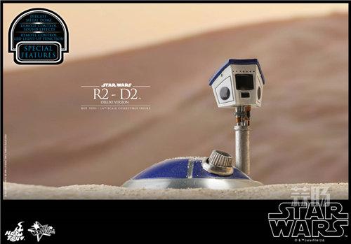 Hot Toys推出《星球大战》豪华版本R2-D2 1:6比例珍藏人偶 模玩 第6张