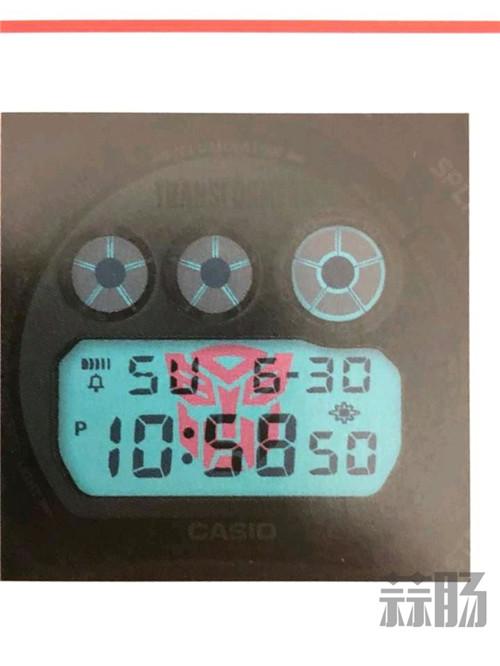 G-Shock联动变形金刚推出可变形主题手表 变形金刚 第6张