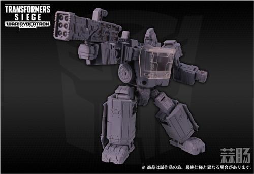 TAKARATOMY公布日版WFC Siege围城系列SG-17 铁皮 变形金刚动态 第3张