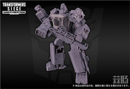 TAKARATOMY公布日版WFC Siege围城系列SG-17 铁皮 变形金刚动态 第5张
