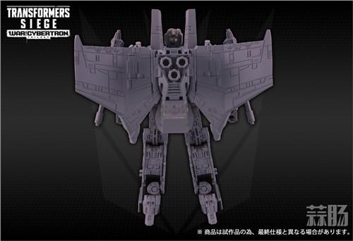 TAKARATOMY公布日版Siege围城系列SG-19 红蜘蛛灰模图片 变形金刚动态 第1张