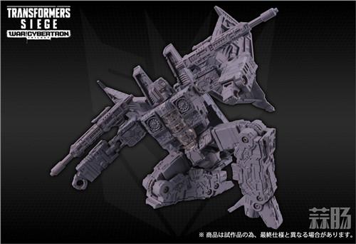 TAKARATOMY公布日版Siege围城系列SG-19 红蜘蛛灰模图片 变形金刚动态 第3张