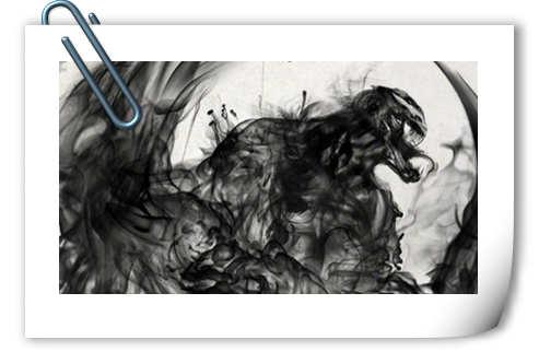 毫无违和感 《毒液》发布中国风水墨艺术海报!