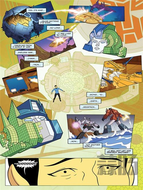 《星际迷航VS变形金刚》漫画第二话画面公开 变形金刚 第5张