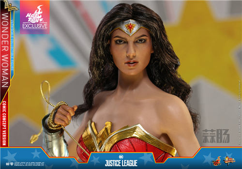 Hot Toys推出《正义联盟》神奇女侠(漫画概念版) 1:6比例珍藏人偶 模玩 第4张