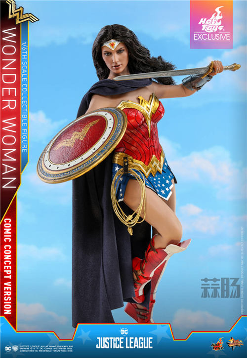 Hot Toys推出《正义联盟》神奇女侠(漫画概念版) 1:6比例珍藏人偶 模玩 第7张